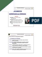 Pos MMC 03 Tratamentos Superficiais Prof Carlos