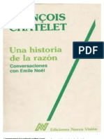 Una Historia de La Razon - Francois Chatelet