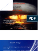 Simulation Nuclear Fission