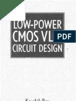 Low Power CMOS VLSI Circuit Design by Kaushik Roy
