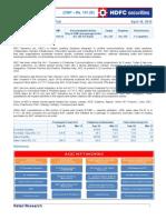 AGC Techno Funda Pick - HDFC - Apr 2012