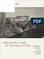 Architecture in Translation by Esra Akcan