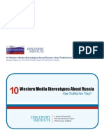 Ten Media Stereotypes About Russia