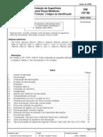VW 137 50 - Proteção superficial - Tipos e códigos (Português)