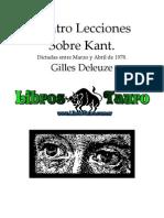 Deleuze, Gilles - Lecciones de Kant