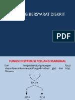 PELUANG BERSYARAT DISKRIT Probabilitas Dan Statistika