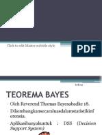 Teorema bayes Probabilitas Dan Statistika