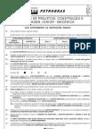 prova 54 - técnico(a) de projetos, construção e montagem júnior - mecânica