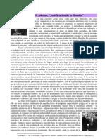 Adorno.justificacion de La Filosofia