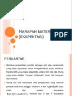 H ARAPAN MATEMATIK ( EKSPEKTASI )