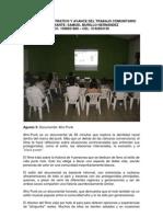 Informe Demostrativo y Avance Del Trabajo rio