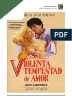 Patricia Matthews - Violenta Tempestad de Amor