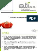 Company Profile Ati Sa Romania en 16-4-09