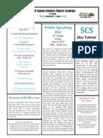 Newsletter 6-1-2012