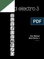 Clavia Nord Electro 3 Manual