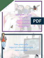 Proiect istorie-Impactul tehnologiei asupra vietii cotidiene