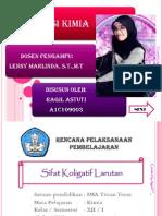 RPP Sifat Koligatif