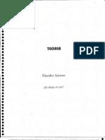 Adorno Theodor - Es Alegre El Arte