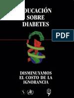 Educacion Sobre Diabetes