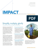 Impact Newsletter 2011 Year Edition