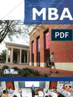 Ole Miss 1 Year MBA  - no work experience required