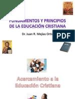 Fundamentos y Principios de la Educación Cristiana