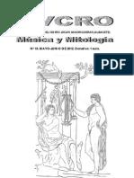 SVCRO nº 19 Música y Mitología