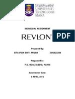 Assignment Revlon