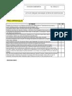 Lista de Chequeo Arranque Sistema de Dosificacion Propuesta