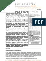 May 2012 Burma Bulletin
