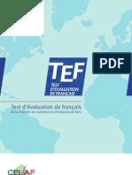 Brochure TEF 2010