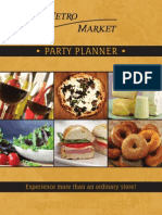 Metro Market Party Planner