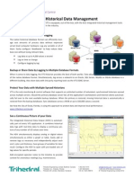 Datasheet VTS / VTScada 10.1 Historical Data Management