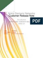 CRN Flexihybrid Release Notes SVR 4.0 CB2