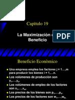 Maximizacion Del Beneficio
