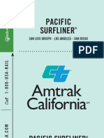 Amtrak Pacific Surfliner Schedule 0507121