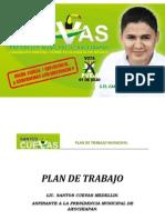Plan de Trabajo Municipal Santos Cuevas