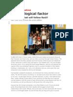 Cuba - The Biological Factor (the Economist 24.3.2012)