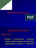 Aula 8 - Schistosoma mansoni