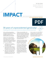 Impact Newsletter 2012 - 30th Anniversary Edition