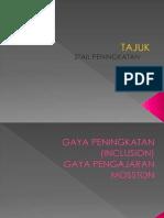 MOSSTON GAYA PENINGKATAN/ INCLUSION