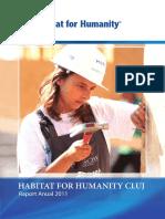 Raport Anual Habitat for Humanity Cluj 2011