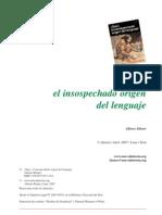 ¡Gua! el insospechado origen del lenguaje