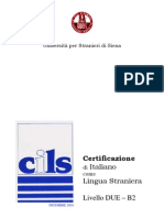 77670151 CILS Livello Due B2 Dicembre 2004 Quaderno