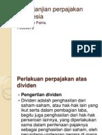 Isi Perjanjian Perpajakan Indonesia