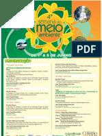 Programacao Semana Meio Ambiente - 30ª Ação Voluntária EcoFaxina