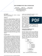 An Intelligent Hybrid Fuzzy Pid Controller