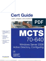 70-640 [MCTS] Windows Server 2008 Active Directory, Configuring {Pearson Cert Guide}