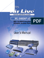 AirLive WL-5460APv2 e9 Manual