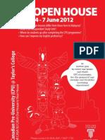 CPU Open House Brochure (June 2012)